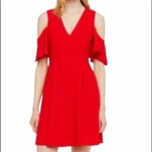Club Monaco women's red dress